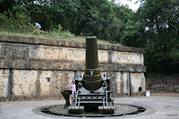 WWII Battery Way, Corregidor Philippines