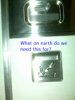 Airline Toilet Door Ashtray