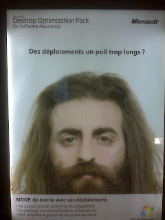 MDOP Microsoft Desktop Optimization Pack Advertisement in Paris