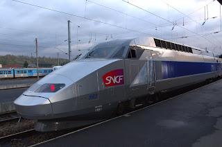 SNCF TGV Train a Grande Vitesse Bullet Train