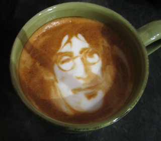Coffee Latte Face Art - Personalized Service