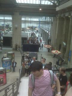Gare du Nord queue