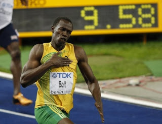 Usain Bolt World Record 9.58 Berlin World Championships