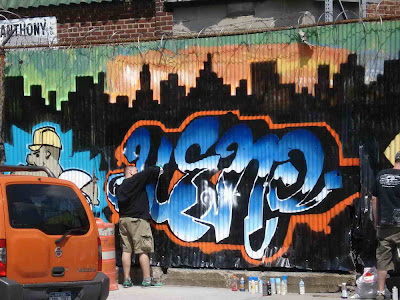 How Artists Create Graffiti