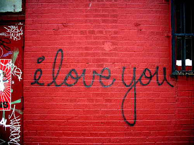 "Graffiti Alphabet ""i love you"". Graffiti writing letters I love you on the"