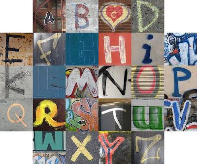 lettering alphabet. chicano lettering alphabet.