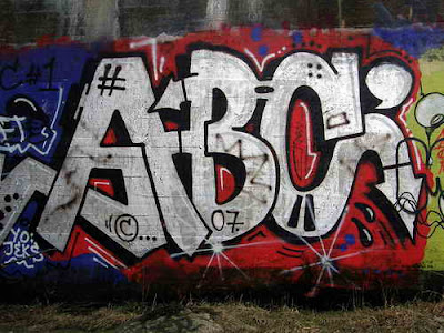 ABC Graffiti, Graffiti alphabet, Graffiti Street Art