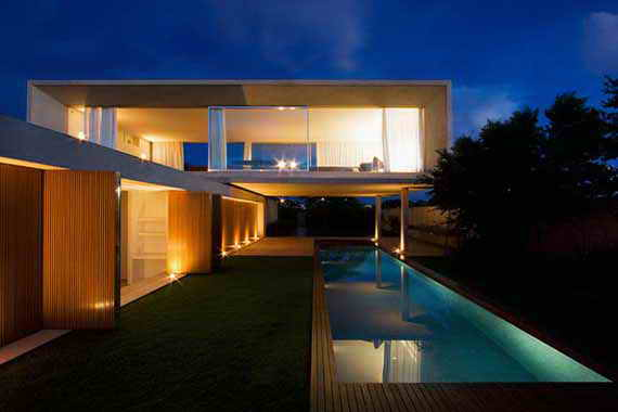 Modern minimalist house designs in brazil for Modern minimalist house plans