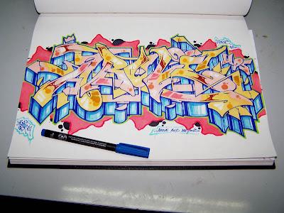Names In Graffiti How To Draw The Graffiti Alphabet Design Tribal