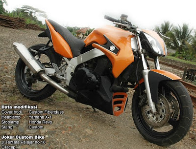 Modifikasi Motor Satria Fu 150 Modification Drag Custom Orange | Apps ...