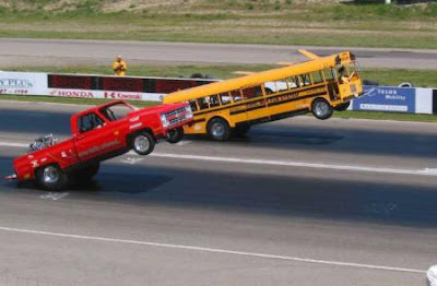 bus and hemi drag racing cool car racing