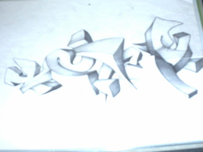 Graffiti Pencil Sketches