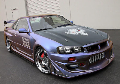 Nissan Skyline Custom Chrome