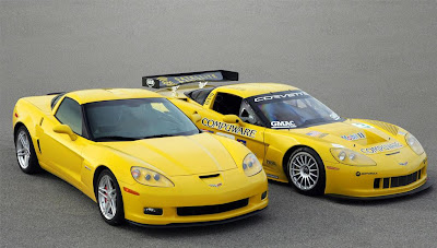 Corvette Z06 Custom and Standard