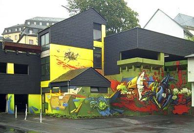 Art Graffiti Painting Minimalist Home Design