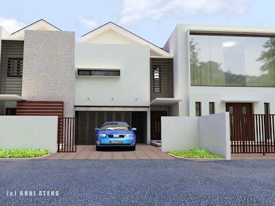 Recent minimalist house design