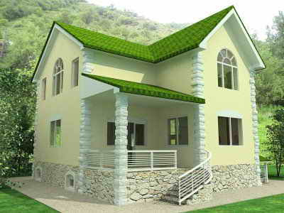 Green Home Design on Interior Design And Style Ideas  Minimalist Green Home Designs