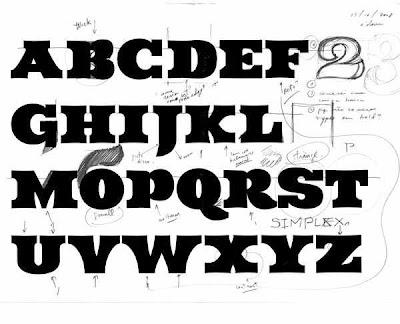 Alfabeto Graffiti, Graffiti Alphabet Letters