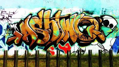 Graffiti Alphabet Asbiwo