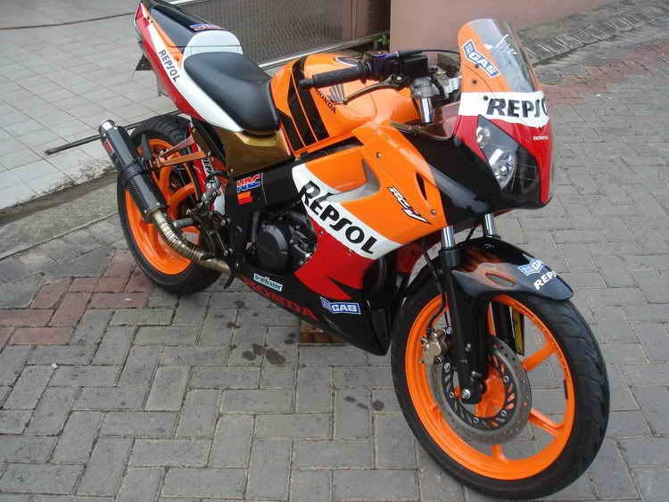 motorcycle modification honda 150 cbr repsol. Black Bedroom Furniture Sets. Home Design Ideas