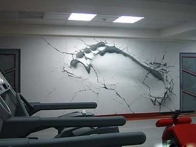 Graffiti Wall Design. Graffiti art on the wall of