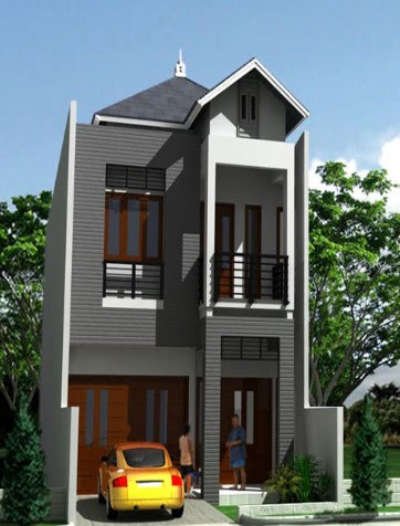 Minimalist House Gallery 3D Design House Perspective