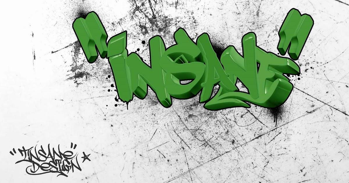 "new graffiti: Write My Name in Graffiti Alphabet is ""Insane"""