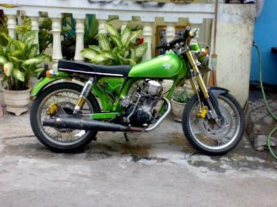 Honda CB 100 Monster | CB Scorpio From Blitar | MOTORCYCLE MODIFICATION