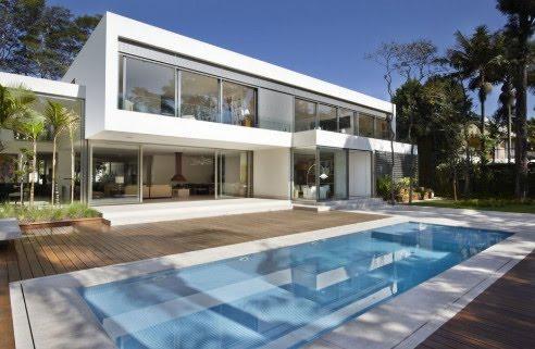 Minimalist Villa Design design minimalist villa in the hills morumbi