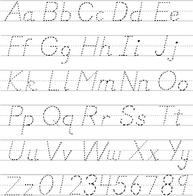 Graffiti alphabet A to Z printouts with uppercase and lowercase letters:
