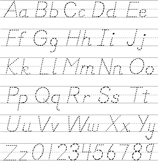 Number Names Worksheets : printable alphabet letters upper and ...