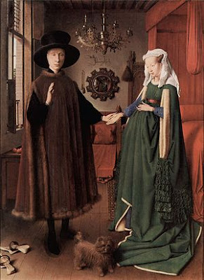 Óleo sobre tabla de Jan van Eyck