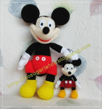 My Amigurumi: Miniature Mickey mouse