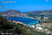 Photo of Zihuatanejo circa 1968 by Gene Lysaker
