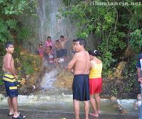 waterfall in Ixtapa