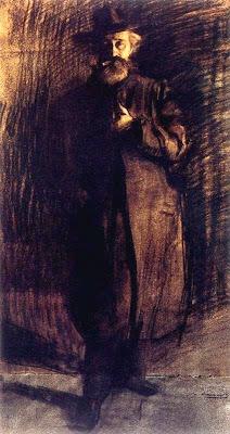 Retrat de Santiago Rusiñol (Ramon Casas i Carbó)