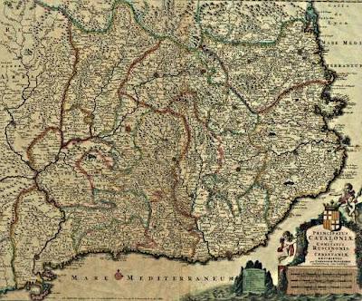 Principatus Cataloniae et comitatus Ruscinonis et Cerretaniae descriptio (Cornelis Danckerts III)