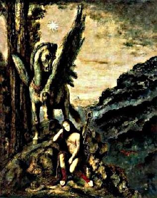 El poeta viatger (Gustave Moreau)
