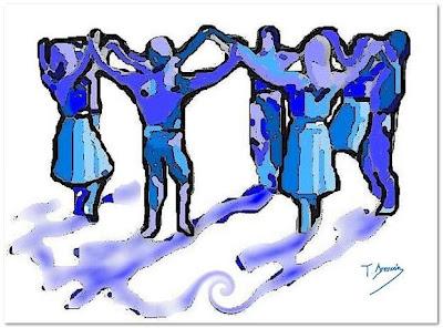 Sardana en blau (Toni Arencón Arias)