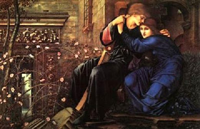 Amor entre les ruïnes (Edward Burne Jones)