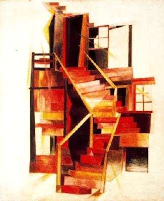 Stairs, Provincetown (Charles Demuth)
