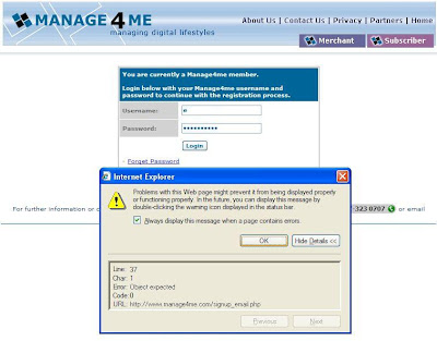Manage4me subscription for Malaysiakini problem