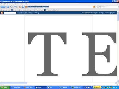 Chnange font size of Blogger blog header