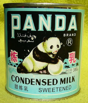 Panda brand sweetened condensed milk