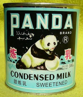 Panda brand sweetened condensed milk