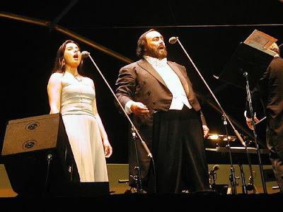 Luciano Pavarotti at Stade Vélodrome