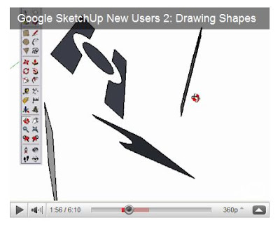 Sketchup surfaces in different planes