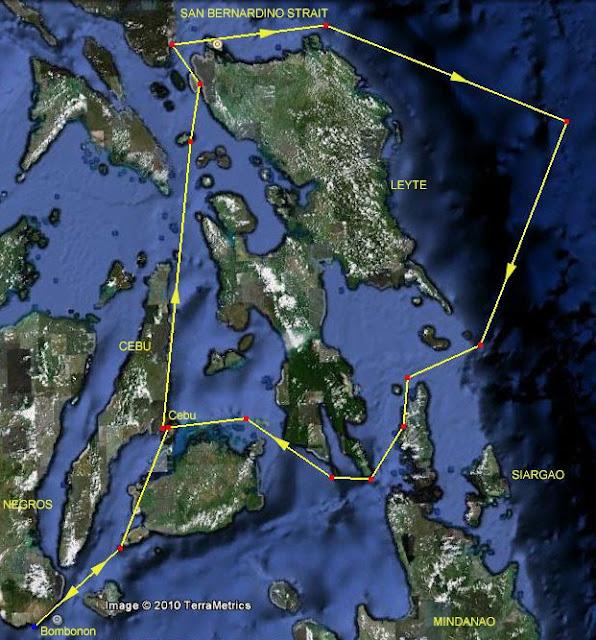 Return to Philippines via Borneo