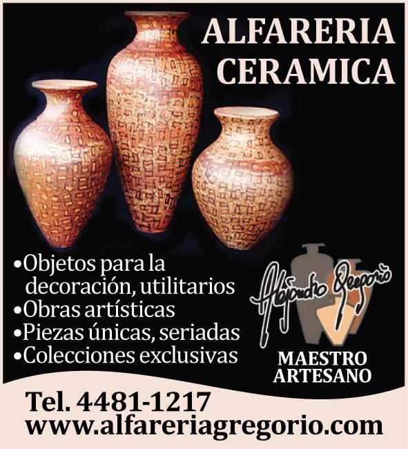 ARTE CERÁMICO ALFARERÍA GREGORIO