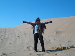 Desert basking...